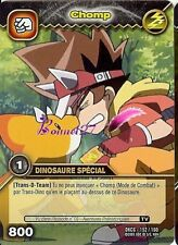 Carte DINOSAUR KING DKCG 152/160 CHOMP