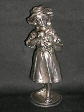 Zinnplastik WMF Jugendstil Figur versilbert ca.1900