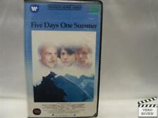 Five Days One Summer * Large Case VHS Sean Connery 1983