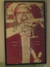 Lucie Arnaz Cole Porter Your The Top! Poster Theater 1979 Sign Video Lucille COA