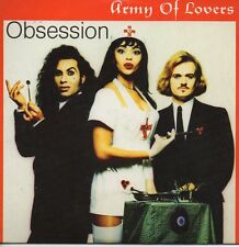 ★☆★ CD Single ARMY OF LOVERSObsession 4-Track card sleeve RARE ★☆★