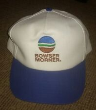 BOWSER MORNER employee staff baseball hat cap SNAPBACK vintage logo TOLEDO OHIO