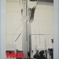 """Emilio Vedova Ausstellungs Plakat """"VEDOVA"""" 1964 Künstler Poster 60er Jahre"""