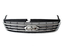 GRILL GRILLE BLACK WITH CHROME BARS FOR FORD MONDEO MK4 IV 4 07-10