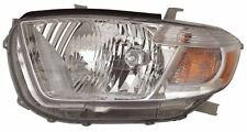 Headlight Assembly Left Maxzone 312-11A5L-AC1 fits 2010 Toyota Highlander