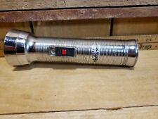Vintage Working Antique EVEREADY CAPTAIN Union Carbide Flashlight NY USA Tested