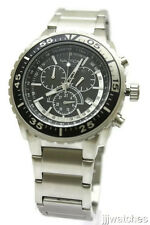 New Nautica Chronograph Stainless Steel Date Men Dress Watch 46mm N16654G $165