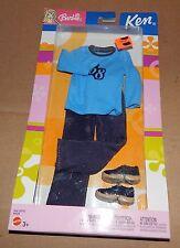 Ken Clothes Blue Shirt & Pants Mattel 2003 25752 NIB B8229 76O
