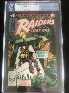 Raiders Of The Lost Ark #2 PGX 9.4  Marvel Comics 1981