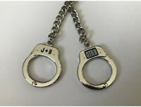 OFFICIAL BEYONCE JAY-Z ON THE RUN II TOUR HANDCUFF KEYCHAIN RARE SOLD OUT OTR
