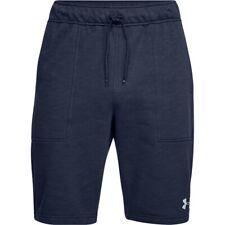 Under Armour Men's UA Baseline Fleece Shorts - Medium - Blue - New