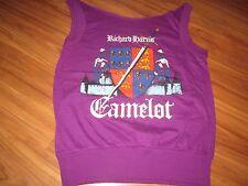 Richard Harris Camelot Vintage 80S Tee Shirt Medium Diy Collar 80S