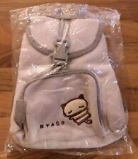 Sanrio Nyago Cat - Small Grey Rucksack Backpack Bag - Vintage 2000 2001 - BNWT