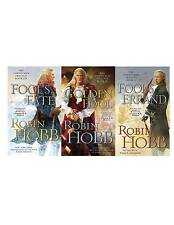 Robin Hobb The Tawny Man Trilogy 3 Book Collection Set Fools Series Fantasy NEW!