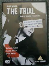 Orson Welles' THE TRIAL DVD PAL REGION 2 PERKINS KAFKA 1963 RARE OOP