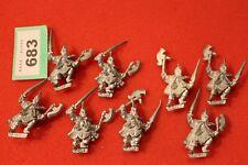 Juegos taller Warhammer elfos oscuros corsarios Regimiento 9 X Marauder ejército fuera de imprenta