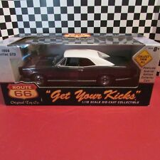 "1966 Pontiac GTO,1:18scale diecast model""Route 66"" with special collector coin"