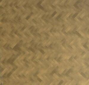 Dolls House Herringbone Parquet Wood Effect Paper Flooring 1:24 Scale