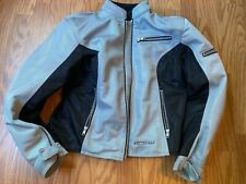 Womens FIRST GEAR motorcycle jacket sz medium