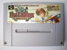 Fire Emblem Thracia 776 for Super Nintendo SNES NTSC J SFC Famicom English!