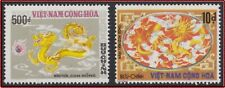 VIETNAM du SUD N°520/521** Dragon 1975 South Vietnam Unissued Year Of Dragon MNH