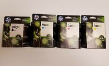 HP 940XL Complete Set of 4 Ink Cartridge High Yield  NIB