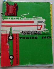 Jouef Catalogue Chemins Iron/Circuit Car Scale Ho Train Condition Correct