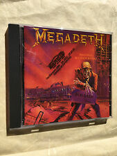 MEGADETH CD PEACE SELLS BUT WHO'S BUYING CAPITOL RECORDS 1986 077774637022 ROCK