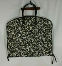 Hudson + Bleecker Womens Garment Bag Camouflage Animal Print Black