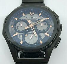 Bulova Curv Black Bracelet Watch - 98A207