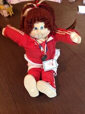 CABBAGE PATCH SOFT SCULPTURE VINTAGE 1984 WORLD CLASS EDITION