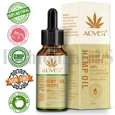 Hemp Seed Massage Essential Oil Improve Sleep Facial Treatment Relieve Pressure