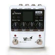 Donner White Wizard Digital Multi Modulation Guitar Effects Pedals US Stock