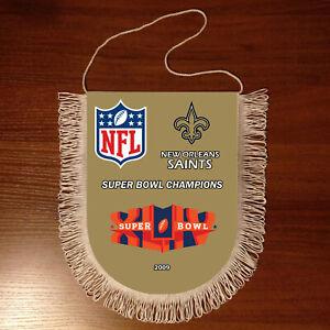 Pennants New Orleans Saints SUPER BOWL CHAMPIONS NFL USA 1966-2020