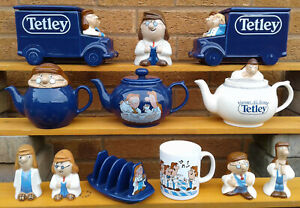 LYONS TETLEY WADE SELECTION OF TEA POTS /& OTHER TV ADVERTISING PRODUCTS.