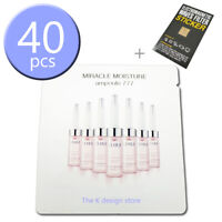 OHUI Miracle Moisture Ampoule 777 1ml x 10 / 20 / 30 / 40 pcs + 2 gift [KOREA]