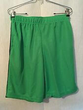 Zone Pro Shorts Men's Sz S Green Polyester New 170441