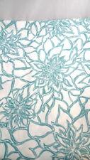 "8 Yards RICHLOOM FABRIC 54"" Wide INDOOR OUTDOOR Screen Print Floral Design"