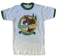Medium Vtg, 80'S KENTUCKY DERBY 113 CHURCHILL DOWNS 1987 T-shirt