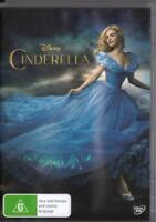 CINDERELLA - DISNEY - CATE BLANCHETT - NEW & SEALED REGION 4 DVD FREE LOCAL POST