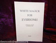 WHITE MAGICK FOR EVERYONE Finbarr Occult Grimoire Magic White Magick Witchcraft