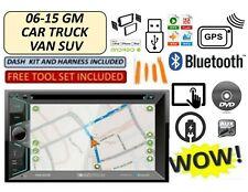 CHEVROLET GMC SIERRA SILVERADO SAVANA 2006-2015 GPS TOUCHSCREEN Bluetooth Stereo