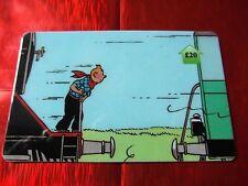 TRES RARE TELECARTE NEUVE - 20 Livres - Tintin au far west 8  - 500 exemplaires