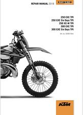KTM EXC - XC-W 300 - 250 TPI Repair Manual 2018 - 2019