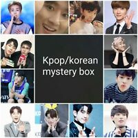 mystery kpop album photocard. kpop korean bts exo got7 jbj dongkiz shinee ace