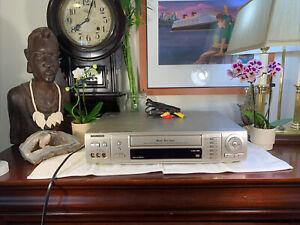 Samsung SV-5000W World Wide Video VHS VCR NTSC PAL SECAM VG+ Shape WORKS GREAT