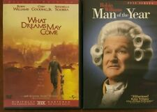 What Dreams May Come/Man of the Year (Dvd, 2003)*Robin Williams