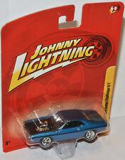 Forever 64 R9 - 1970 DODGE CHALLENGER R/T - blue metallic  1:64 Johnny Lightning