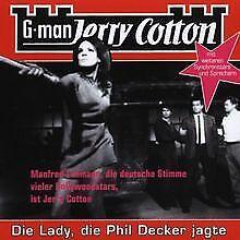 Jerry Cotton - Die Lady, die Phil Decker jagte von Je...   CD   Zustand sehr gut