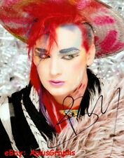 BOY GEORGE.. Do You Really Want To Hurt Me Singer (Culture Club) SIGNED